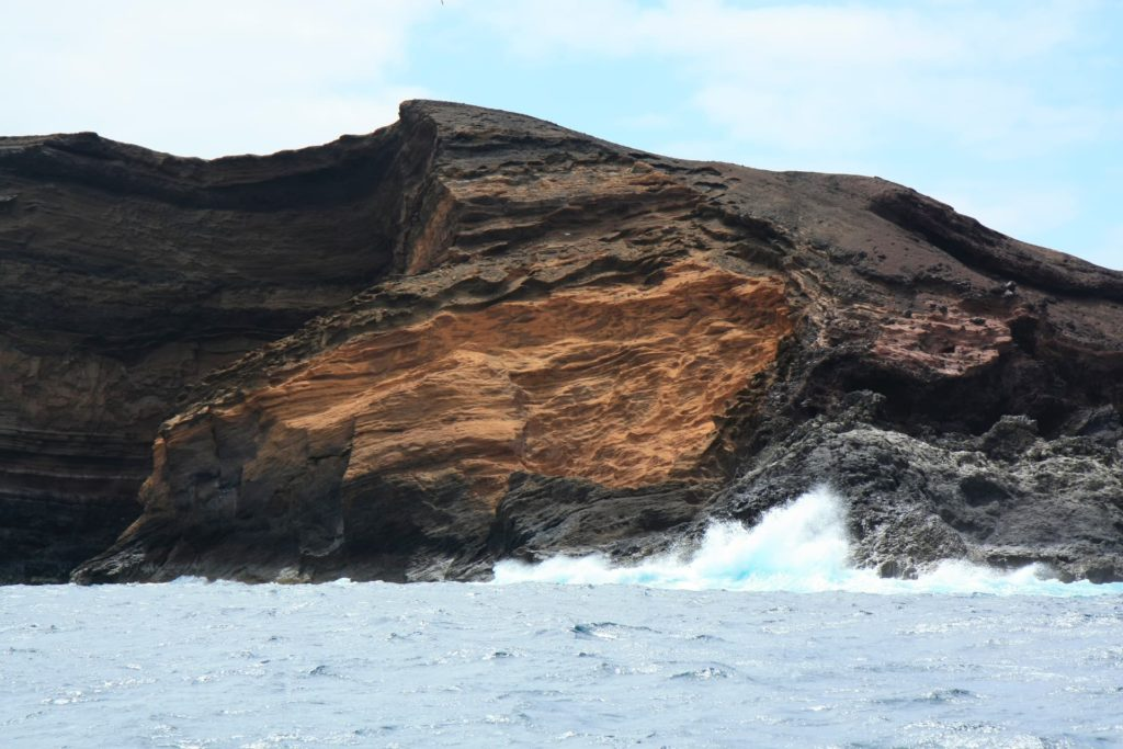 Volcanic formations in the Chinijo archipelago