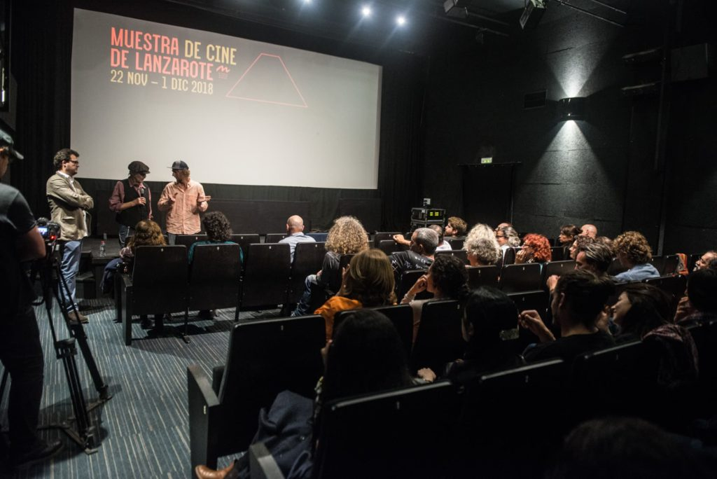 Discussions during Muestra de cine de Lanzarote