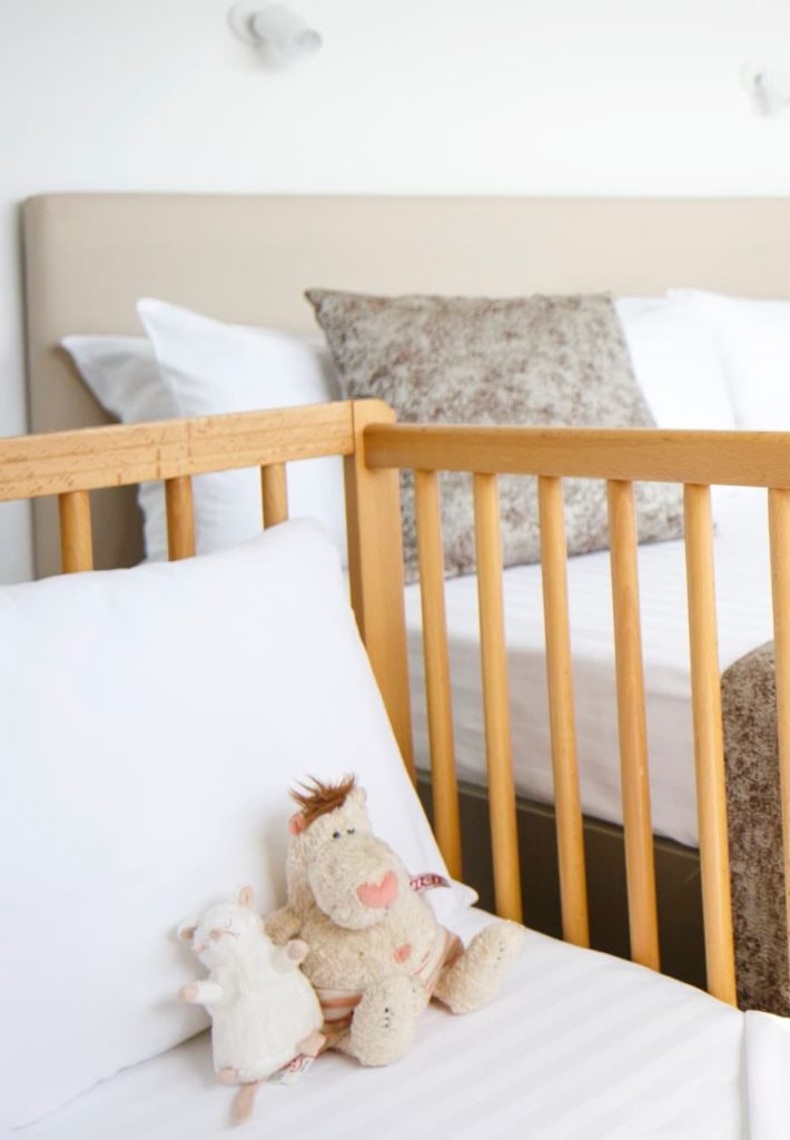 We provide baby cot free of charge