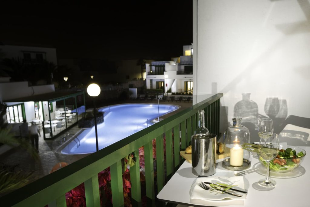 Night views from the terrace